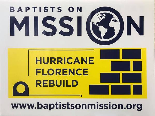 Charity Mission Site Sign Photo