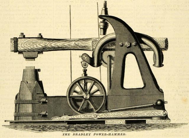 ... Bradley Power-Hammer Antique Machinery Tools Woodworking Machines