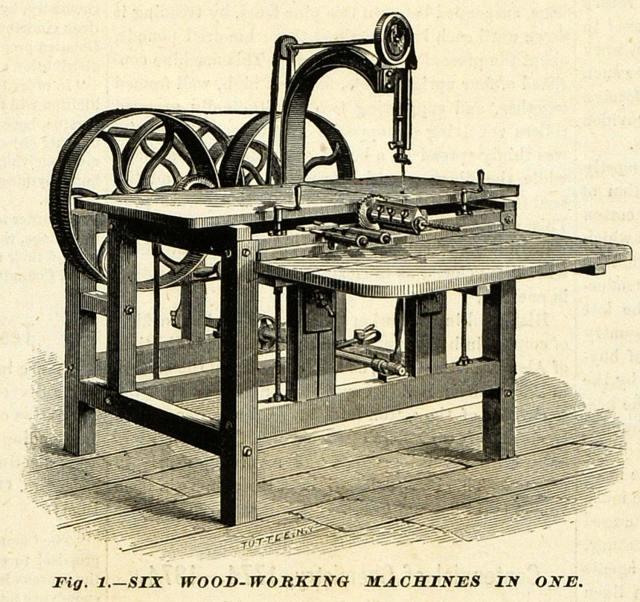 1874 Print Greenwich Woodworking Machine Antique Tool | eBay