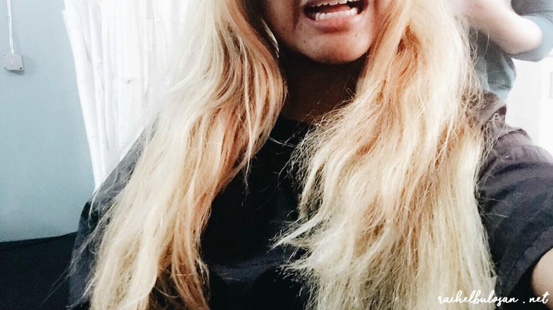 Filipino with Blonde Hair