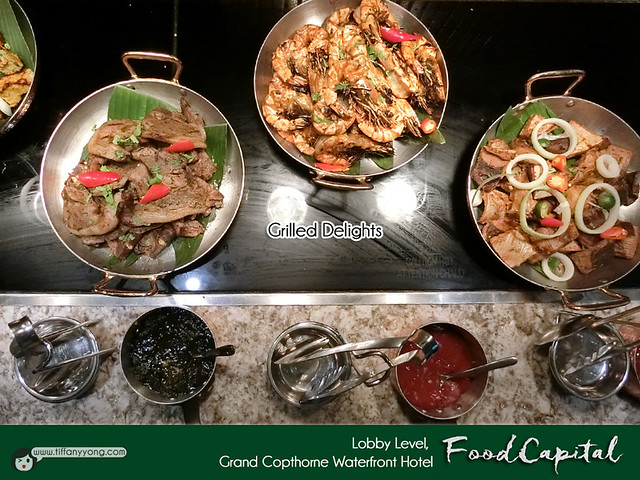 Grand Copthorne Waterfront Christmas Buffet Grilled