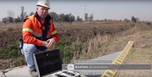 Claudio Riccioti Analista de procesos Minera Alumbrera