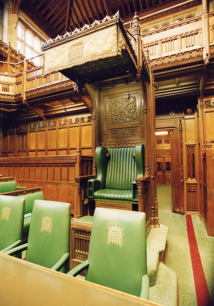 House of Commons Chamber: Speaker's chair