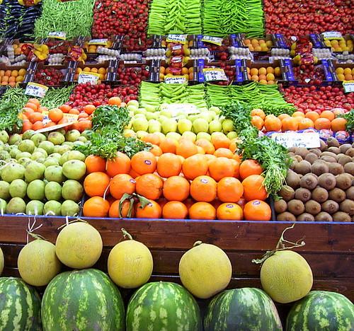 Fruit & vegetable basket