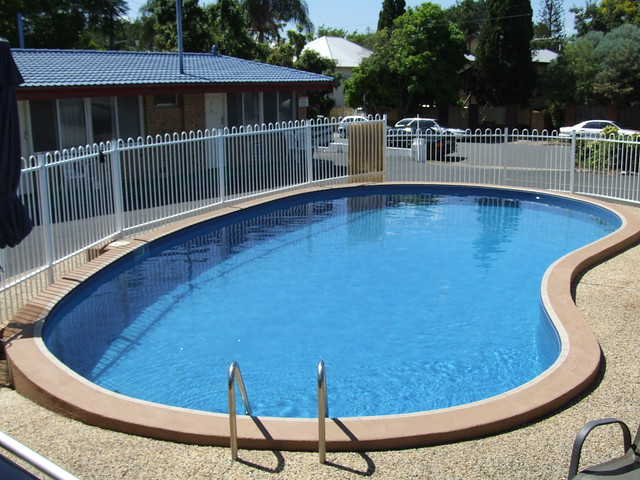 Swimming Pool – great for exercising