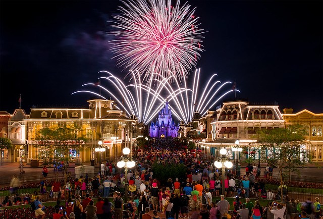 Best Magic Kingdom Fireworks Spot?
