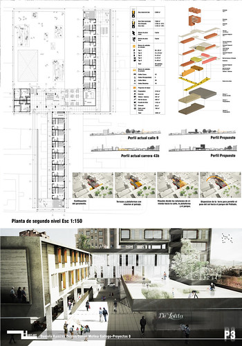 Presentations Architectural Poster