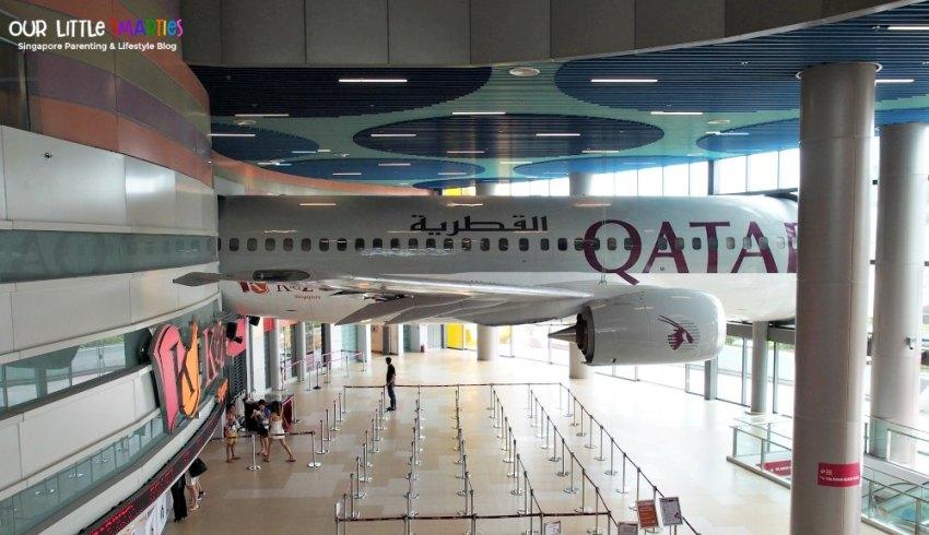 Kidzania Singapore Qatar Airways