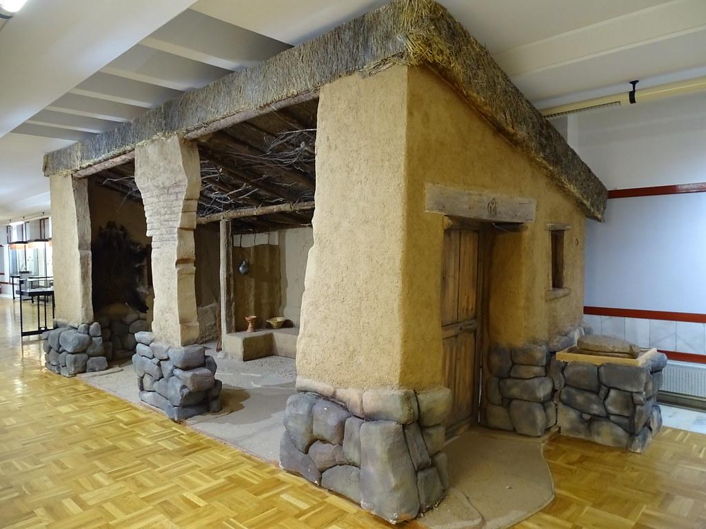 Interior Vivienda habitat Museo Numantino Soria 01