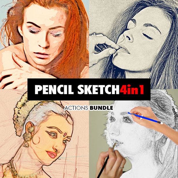 Special Sketch Photoshop Action - 128