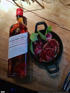 Johnnie Walker Red Rye Finish Food Pairing