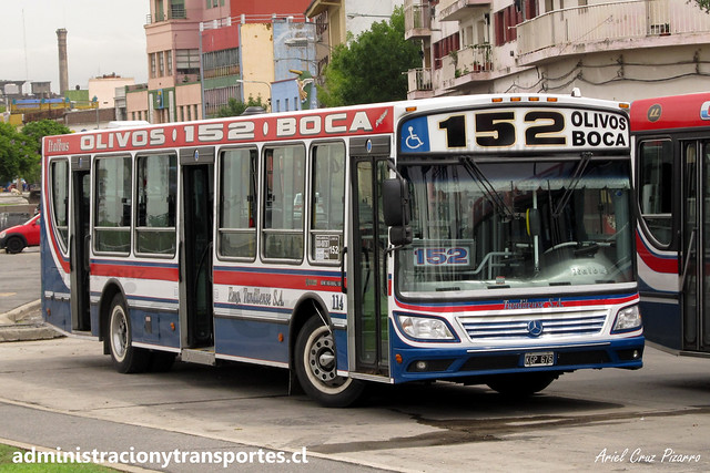 Buenos Aires 152   Tandilense   Italbus Tropea - Mercedes Benz / KGP675