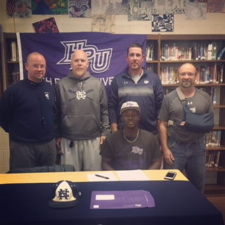 Jacob Brown Northeast Guilford High School Signs Baseball with High Point University