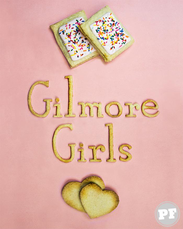 Pop Tarts Gilmore Girls de Banana e Morango por PratoFundo.com