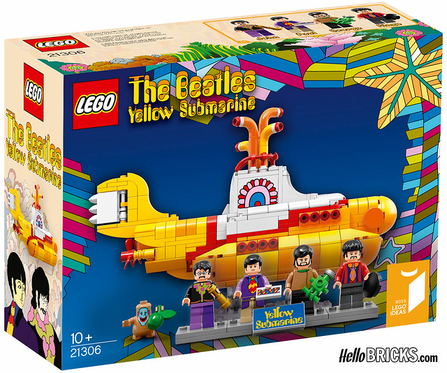 Lego Ideas #015 - The Beatles - Yellow Submarine
