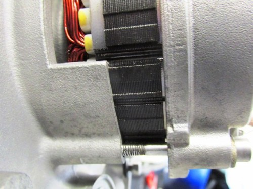 Stator Coil Flush with Mounting Ears