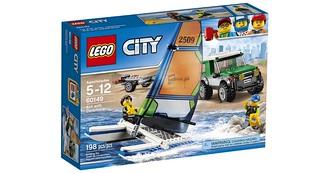 60149 4x4 with Catamaran box
