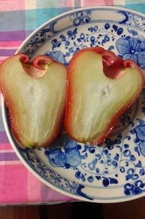 Water Apple Inside