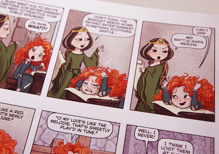 Amy Mebberson Disney Princess Merida