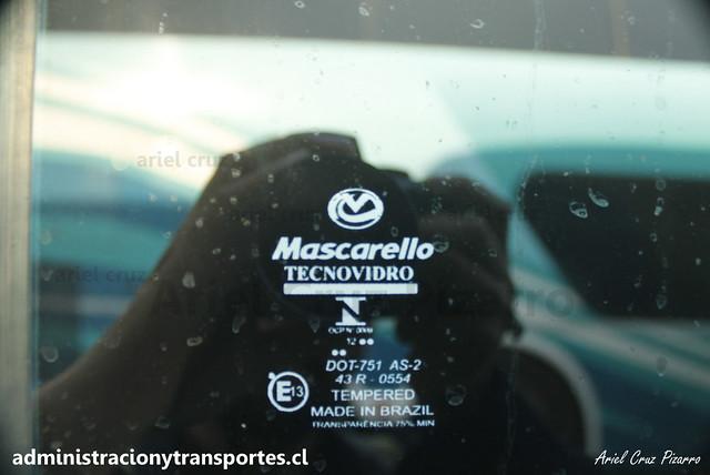 Transantin | Estación Central | Mascarello Roma 350 - Mercedes Benz / FXRV25