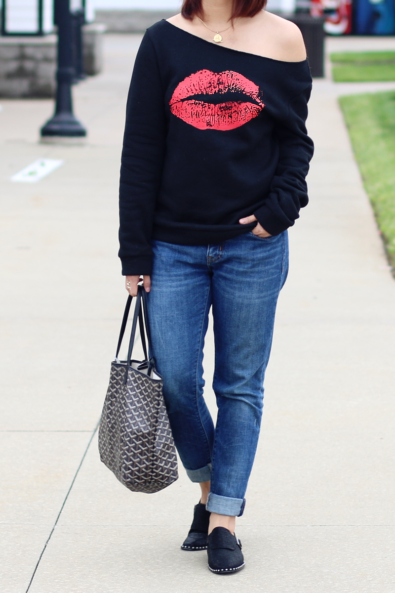 kiss-lips-sweater-rosewholesale-jeans-studded-flats-goyard-2
