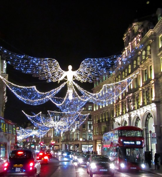 Regents Street's Christmas lights