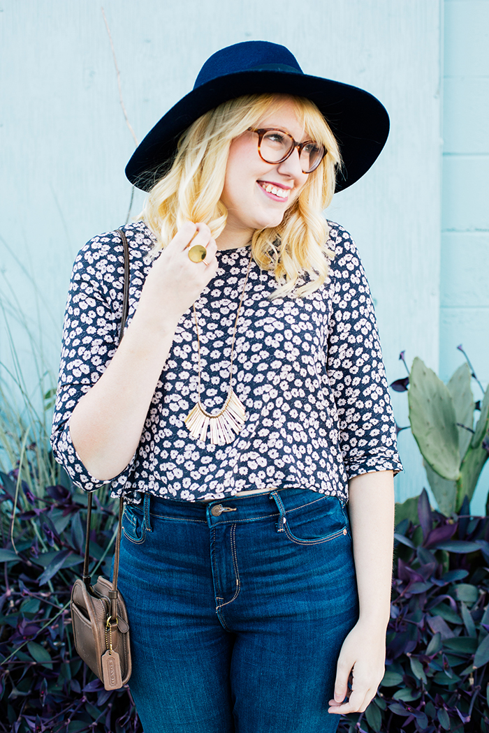 writes like a girl old navy bell bottoms navy brixton hat15