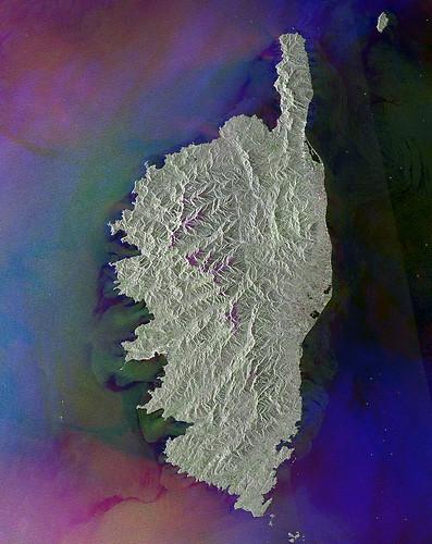 Les iles francaises vues de l'espace