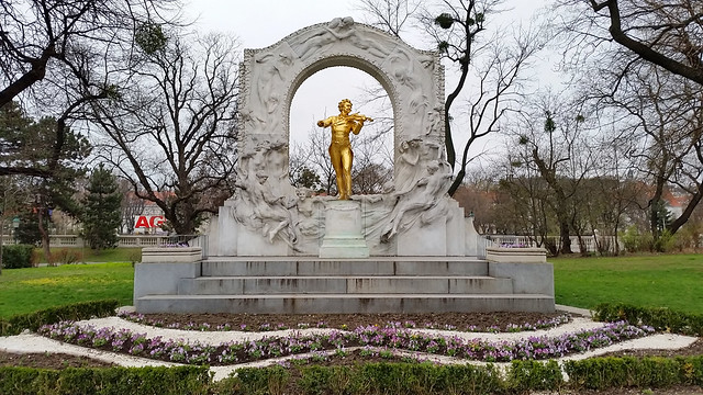 Johann Strauss in Stadtpark