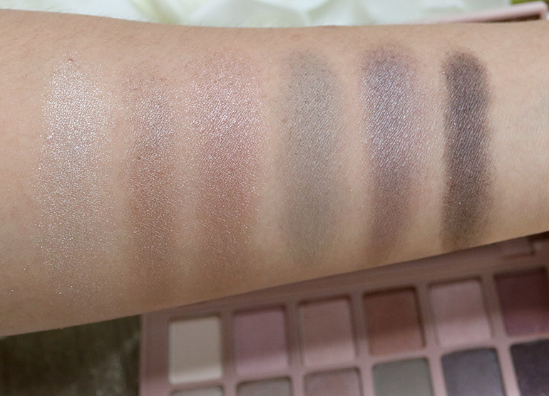 7 Maybelline Blushed Nudes Swatches Review - Gen-zel.com(c)