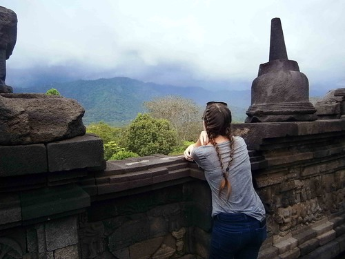 Borobodur Temple Overlook