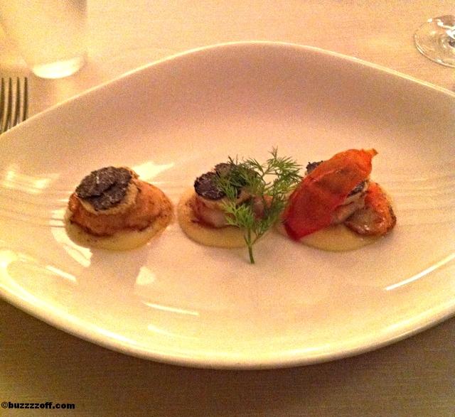Scallops with foie gras - Locando nel Borgo Antico