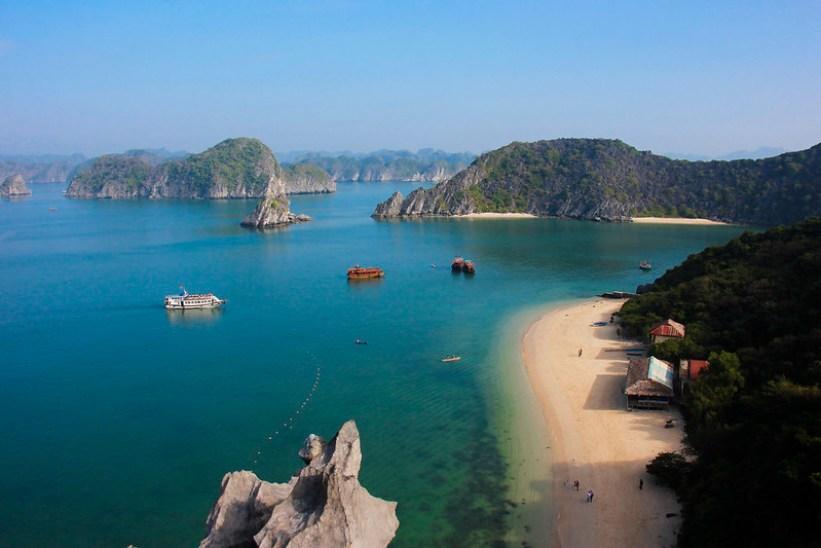 De smukkeste strande på Monkey Island i Halong Bay