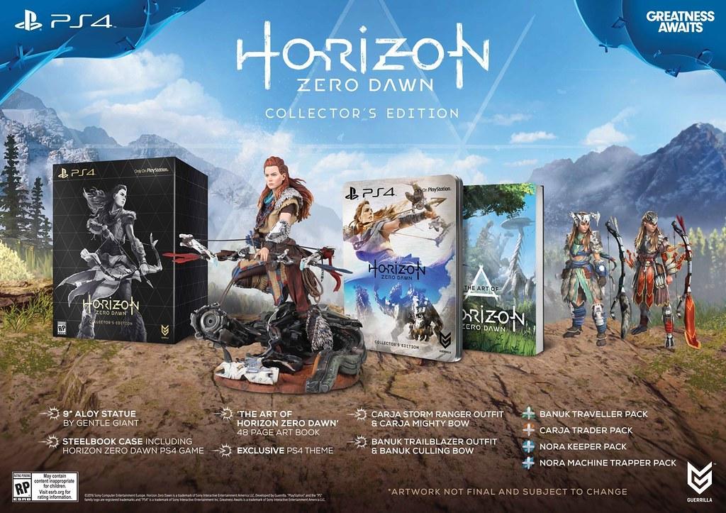 E3 2016: Horizon Zero Dawn Gameplay; Special Editions Detailed 1