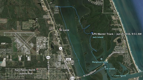 Indian River GPS Track