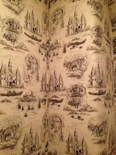 New Orleans Toile (Hazelnut), Commander's Palace, New Orleans