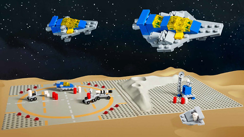 Classic Space Microscale