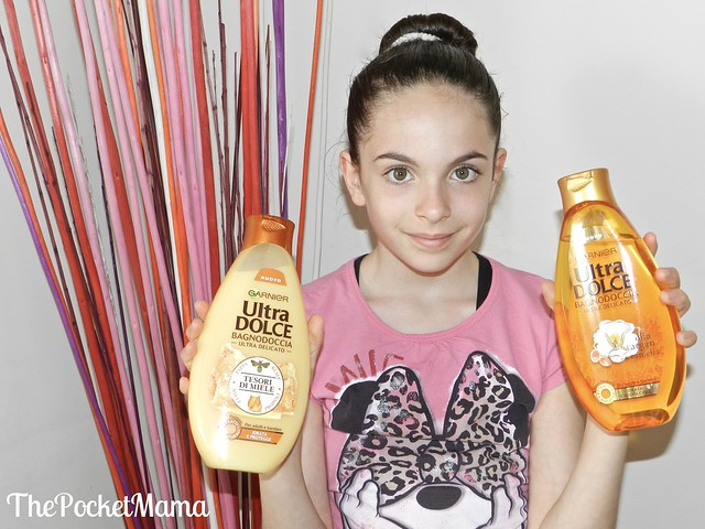 Garnier Ultra Dolce Bagnodoccia tesori di miele e argan e camelia
