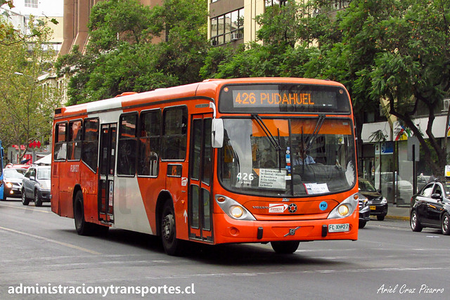 Transantiago - 426   Express   Marcopolo Gran Viale - Volvo (Biportal) / FLXH27