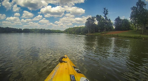 Kayaking and SUP on Saluda Lake-64