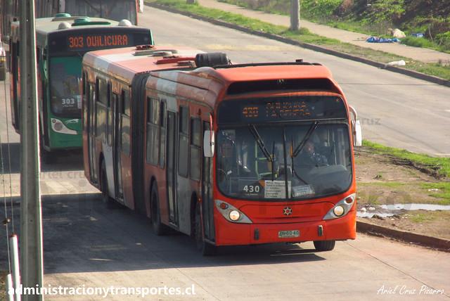 Transantiago - 430 | Express | Marcopolo Gran Viale - Volvo / ZN6040 (Articulado)
