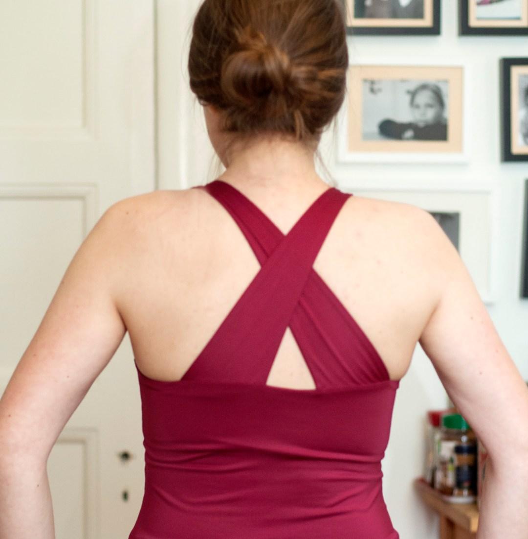 Burdastyle yoga top