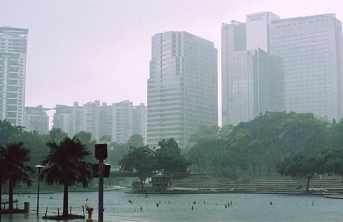 Rain in KL