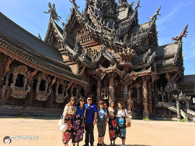 TAT at Sanctuary of Truth Pattaya