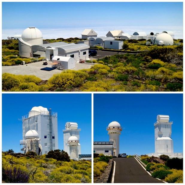 Visita telescopios Tenerife