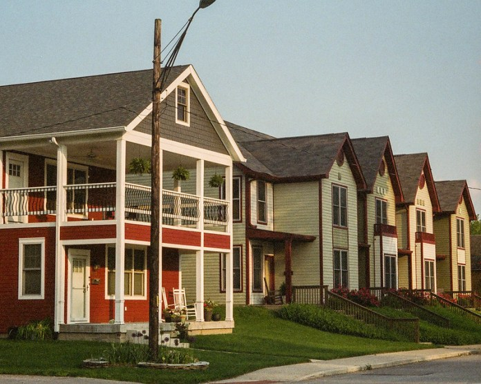 Cottage Home row houses