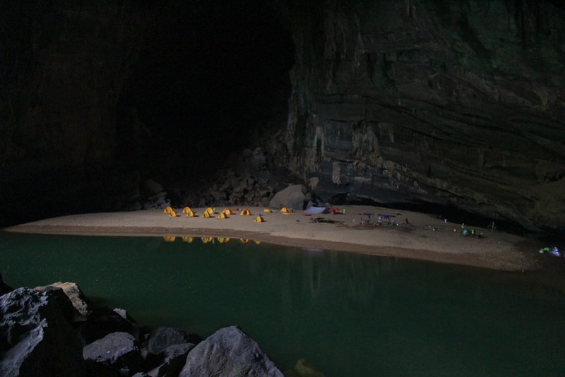 Hang En Cave, Vietnam, is the third largest cave in the world. It's a spectacular natural space and it was a privilege to visit.