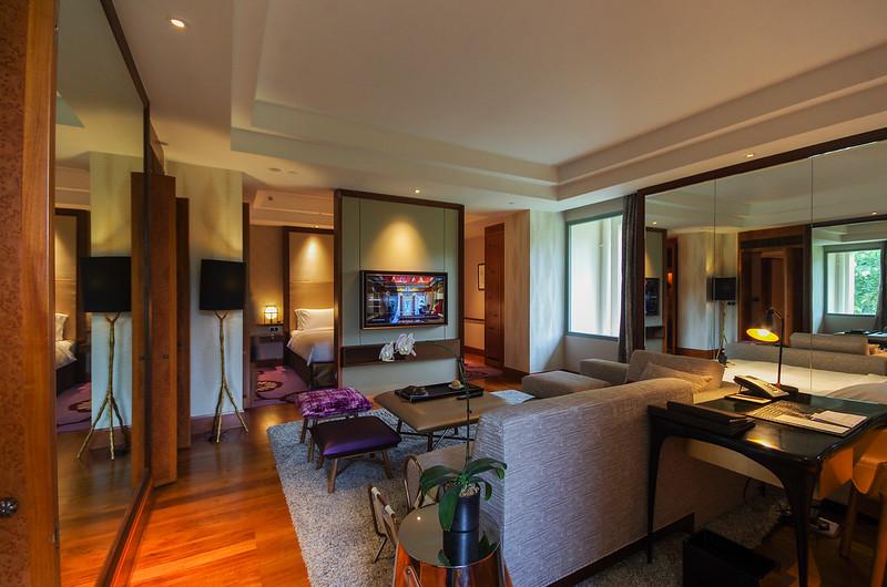 junior suite living room sofitel singapore sentosa resort