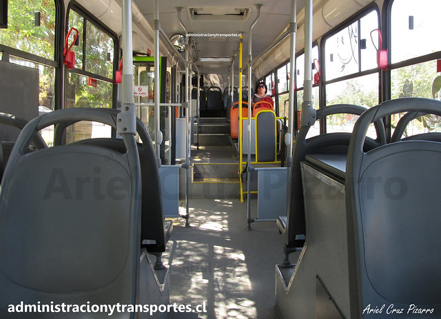 Transantiago 117 | Alsacia | Marcopolo Gran Viale - Scania Biodiésel / DBFZ92