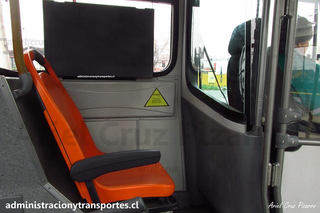 Transantiago (Bus Híbrido) | Buses Vule - I09 | Marcopolo Viale BRS - Volvo B215RH / FLXP39 - 1804